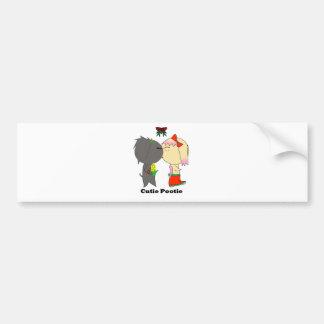 The Kiss Bumper Sticker