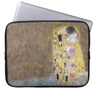 The Kiss by Gustav Klimt  1 Laptop Sleeve