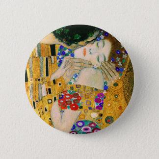 The Kiss by Gustav Klimt 6 Cm Round Badge