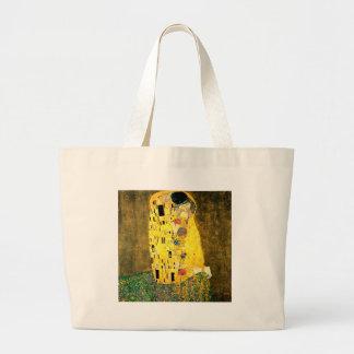 The Kiss by Gustav Klimt Art Nouveau Bag