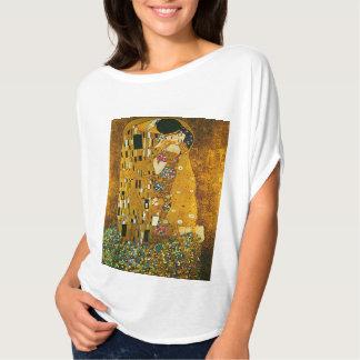 """The Kiss "" by Gustav Klimt, Circle T-Shirt"