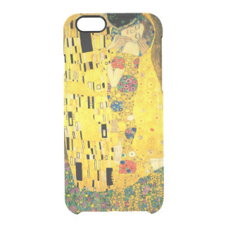 The Kiss by Gustav Klimt Clear iPhone 6/6S Case