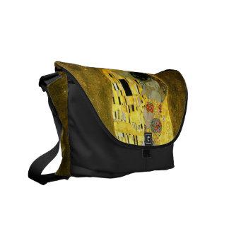 The Kiss by Gustav Klimt Commuter Bag