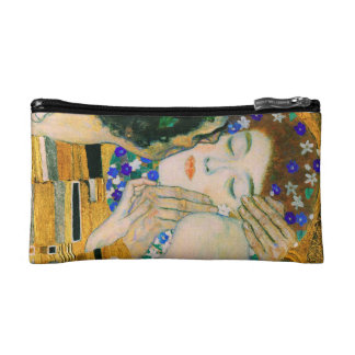 The Kiss by Gustav Klimt Cosmetic Bag