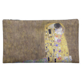 The Kiss by Gustav Klimt Honeymoon Makeup Bags