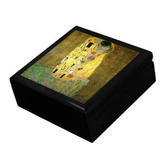 The Kiss by Gustav Klimt Keepsake Boxes