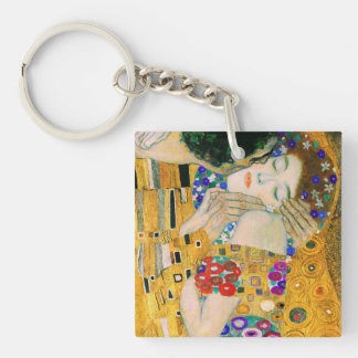 The Kiss by Gustav Klimt Key Ring