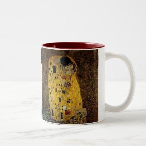 The Kiss by Gustav Klimt Coffee Mugs