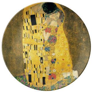 The Kiss by Gustav Klimt Plate