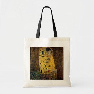 The Kiss by Gustav Klimt Budget Tote Bag