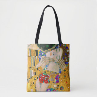 The Kiss by Gustav Klimt Tote Bag