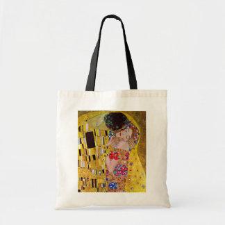 The Kiss by Gustav Klimt, Vintage Art Nouveau