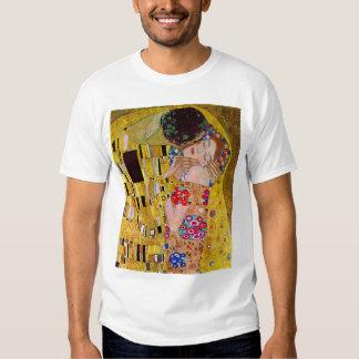 The Kiss by Gustav Klimt, Vintage Art Nouveau Shirts