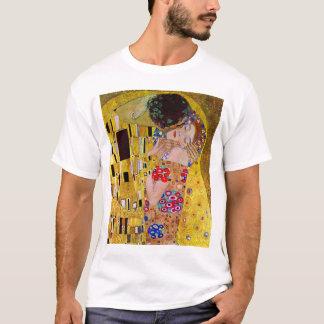 The Kiss by Gustav Klimt, Vintage Art Nouveau T-Shirt
