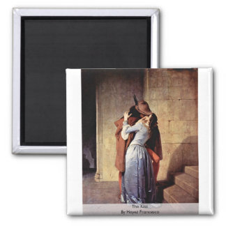 The Kiss By Hayez Francesco Magnet