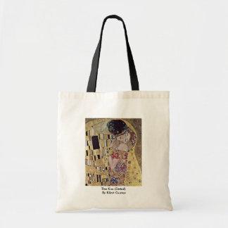 The Kiss (Detail) By Klimt Gustav Budget Tote Bag