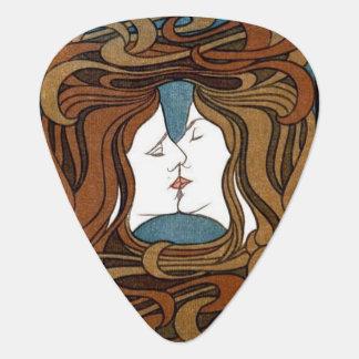 The Kiss guitar pick