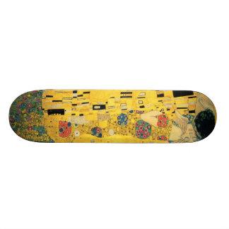 The Kiss - Gustav Klimt 18.1 Cm Old School Skateboard Deck
