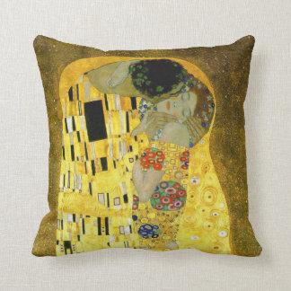 The Kiss ~ Gustav Klimt Cushion