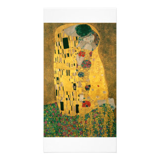 The Kiss - Gustav Klimt Customized Photo Card