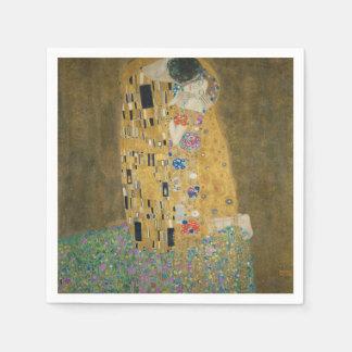 The Kiss - Gustav Klimt Disposable Serviettes