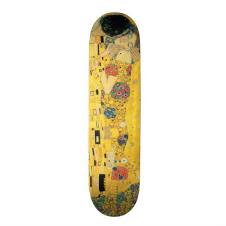 The Kiss - Gustav Klimt Skate Board