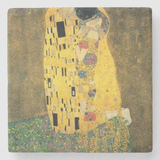 The Kiss - Gustav Klimt Stone Coaster