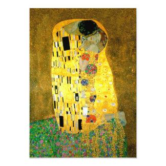 "The Kiss Gustav Klimt Wedding | Invitation 5"" X 7"" Invitation Card"