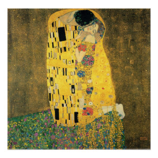 The Kiss - Gustav Klmit Poster