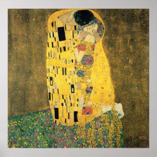The Kiss - Gustav Klmit Poster