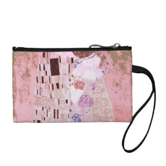 The Kiss in Pinks Coin Wallet