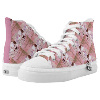 The Kiss in Pinks High Tops