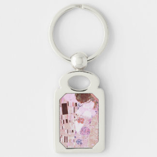 The Kiss in Pinks Key Ring