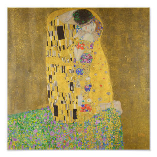 The Kiss (Lovers) by Gustav Klimt GalleryHD Photo Art