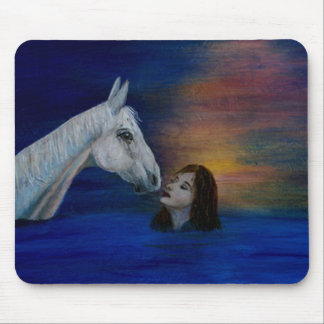 The Kiss Of Intuition, Horse Lovers Mouse Pad
