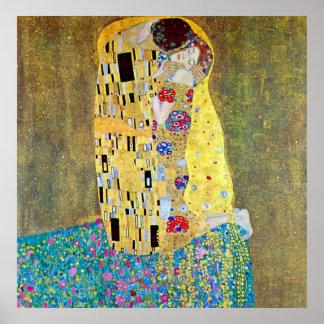 The Kiss original Der Kuss by Gustav Klimt Poster
