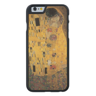 The Kiss, ,reproduction,Gustav Klimt painting,art, Carved® Maple iPhone 6 Case