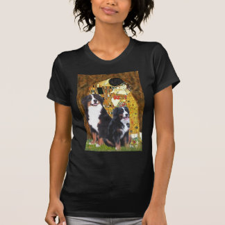 The Kiss - Two Bernese Mountain Dogs T-Shirt