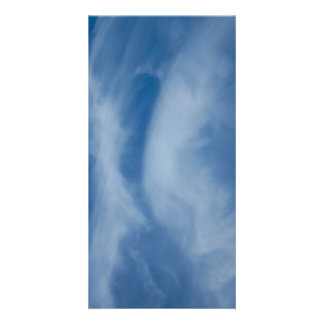 The Kissing clouds Personalized Photo Card