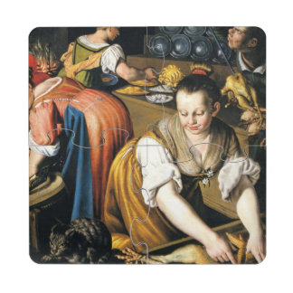 The Kitchen in detail by Vincenzo Campi
