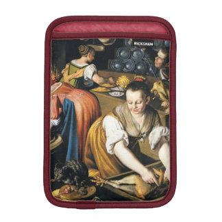The Kitchen in detail by Vincenzo Campi iPad Mini Sleeve