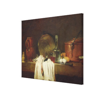 The Kitchen Table Stretched Canvas Prints