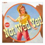 The Kitsch Bitsch : Cowgirl Not Wed Yet! Invite