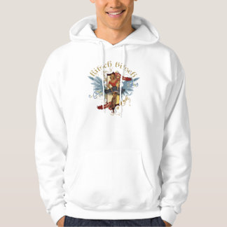 The Kitsch Bitsch : Dancing Doll Tattoo Pin-Up Hoodie