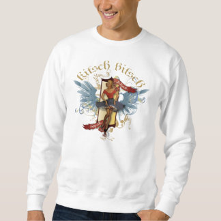 The Kitsch Bitsch : Dancing Doll Tattoo Pin-Up Pull Over Sweatshirt