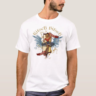 The Kitsch Bitsch : Dancing Doll Tattoo Pin-Up T-Shirt