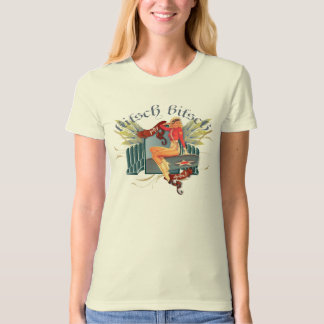 The Kitsch Bitsch : Fly Girl Tattoo Pin-Up T Shirts