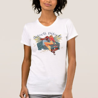 The Kitsch Bitsch : Fly Girl Tattoo Pin-Up Tshirts