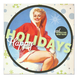 The Kitsch Bitsch : Happy Holidays Greeting Card
