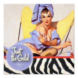 The Kitsch Bitsch : Just The Gals! Spa-tacular! Card